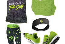 Clothes!!  Workout gear!!