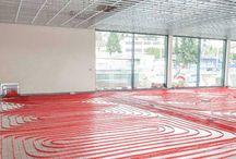 Suelo y techo radiante / Tablero que reúne imágenes, noticias y vídeos sobre superficies radiantes para calefacción y refrigeración: techo radiante, suelo radiante, suelo refrescante,...