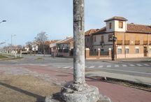 RIAZA Y SU COMARCA / Este tablero incluye Riaza, su núcleos de población y las excursiones de su comarca.  Riofrío de Riaza, municipio administrativamente independiente, esta incluido por ser el lugar donde nace el río Riaza y depender de Riaza en casi todo.