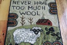 Rug Hooking / All my favorite rug hooking projects and ideas
