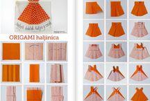 origami robe