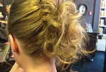 Hair Ups / Different hair up styles by the team! For any occasion