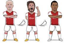 My own art / Digital football art & cartoons.