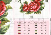 róże zegary