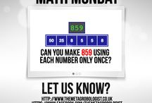 Math Puzzles / TheMetagrobologist board dedicated to showcasing the very best Recreational Math puzzles - www.themetagrobologist.co.uk