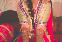 Mehendi Sangeet Outfits