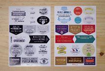 Biterswit Stickers / Adhesius troquelats per a donar un acabat genial als teus regals · Pegatinas troqueladas para dar un acabado genial a tus regalos