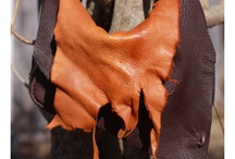 Hippie leather bags