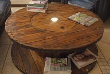 Wooden Spool Tables (and related)