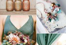 Inspiration | Green themed wedding / Some Ideas and Inspiration for a green themed wedding
