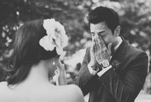The First Look / Becoming more popular is capturing that first look before you walk down the aisle.  Such a special moment between two and something to be cherished.