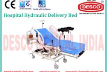 Hydraulic Delivery Bed Manufacturers India / We are experts in manufacturing a comprehensive range of Hydraulic Delivery Bed that finds extensive usage in hospitals and nursing homes. For product inquiry visit our website.