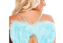 Sexy Fairytale Costumes / It's time to fly! Halloween costumes with wings are guaranteed to take you to new heights. www.loverslane.com / by Lovers Lane