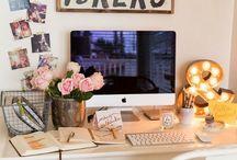 Work Space / by Kayla Bradshaw