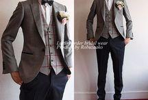新郎 スーツ