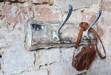 wall hanger oldtimelook / Annie Sloan Chalk Paint