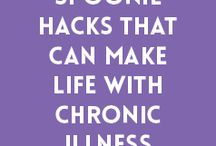 Living with a Chronic Illness / Living with a chronic illness can be stressful. Learn tips and get motivation on how to handle living with a chronic illness. #spoonie #chronicillness #multiplesclerosis #stressrelief #anxiety