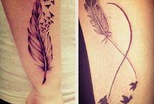 Tatouage plume