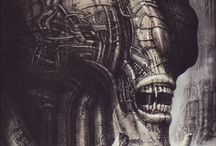 H.R Giger / The Genious behind Alien and other wonderful art