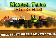 Monster Truck Extreme Dash Game iOS & Android Game! / This board is about the game and gameplay!