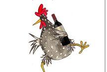 Bolond csirkék