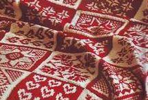 Вязание, пледы