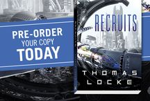 Recruits / Recruits is a new sci-fi series for young adult readers.  Book 1 in the series, titled RECRUITS, releases February 14, 2017.