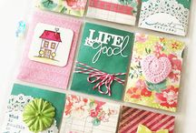 Pocket Letter / a new and creative way to send something special to a pen pal, or just another crafty friend. Honestly, I have never heard of these.  But, they look fabulous!