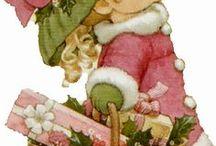 Kerst schilderen / kerst schilderen