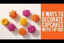 Cake decoration / Icing cakes & cupcakes