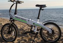 Folding Electric Bike model : URBAN FOX 01 Special Edition / Andrew Space Design present : URBAN FOX 01 The best electric bike on the market with 100 km range and battery of 36v 13,6ah inside the frame hidraulic brakes and more other thing....