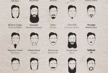 Beards / Facial hair inspiration!