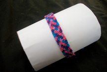 Friendship Bracelets / I make friendship bracelets, here's a small collection of mine and great snaps of some