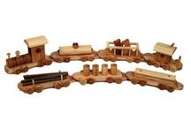 Ideas Wooden Toys / by Bert A