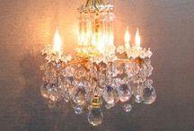 Miniatyr lamper & lys