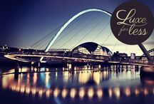 Luxe for Less-Newcastle / One of the biggest party cities in the UK, Newcastle is the place to go for any hens wanting to raise a toast to the bride to be. Why not prepare for all that partying with a pre night out pamper and fill up on the culinary delights this vibrant city has to offer? You won't be disappointed!