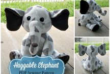 Plushies & Beanies / Cute patterns for children's stuffed toys