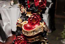 cake skull theme
