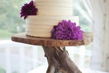 rustic cake ideas / stands / by Nicole Burke-gilbert