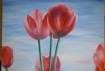 My work • / Maľujem obrazy na stenu a na plátna ;)  tu pridávam svoje práce.