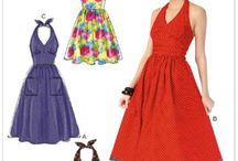 Vintage-style and Retro Sewing Patterns / Currently-available sewing patterns with classic style!