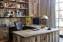 Rustic Workspace