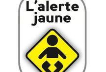 alerte jaune - bébé santé  / L'alerte jaune est une campagne nationale d'informations pour le dépistage des maladies du foie chez les bébés initiée par l'AMFE. (Association Maladies Foie Enfants) www.alertejaune.com contact@amfe.fr www.amfe.fr