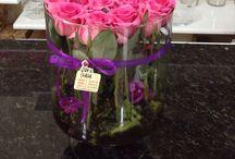 Arranjos e bouquet de flores / Flor e casa
