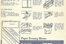 Vintage blouses & things / 1930s-50s mostly blouses, mostly patterns