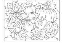 Rughooking Fruit, Vegetables