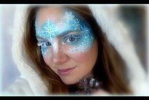 Maquillages reines des neiges