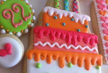 Sugar cookies/ birthday