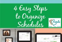Household Organization / These great tips and tools will help keep your home organized and clutter free!  Stay on top of laundry, piles of paper, toys, and everything else that could easily accumulate in your living space.