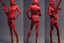 Model/ Sculpture/ Statue